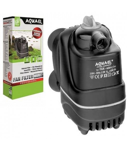 Фильтр внутренний AQUAEL FAN-micro plus 250л/ч до 30л (03067)
